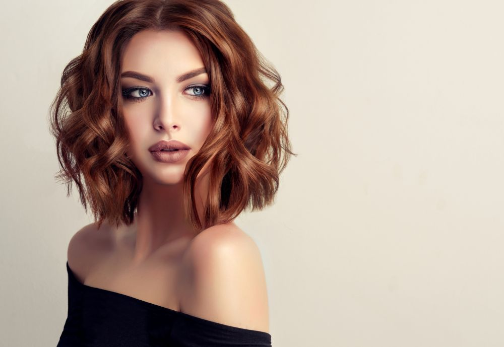 Dramatic cute hairstyle