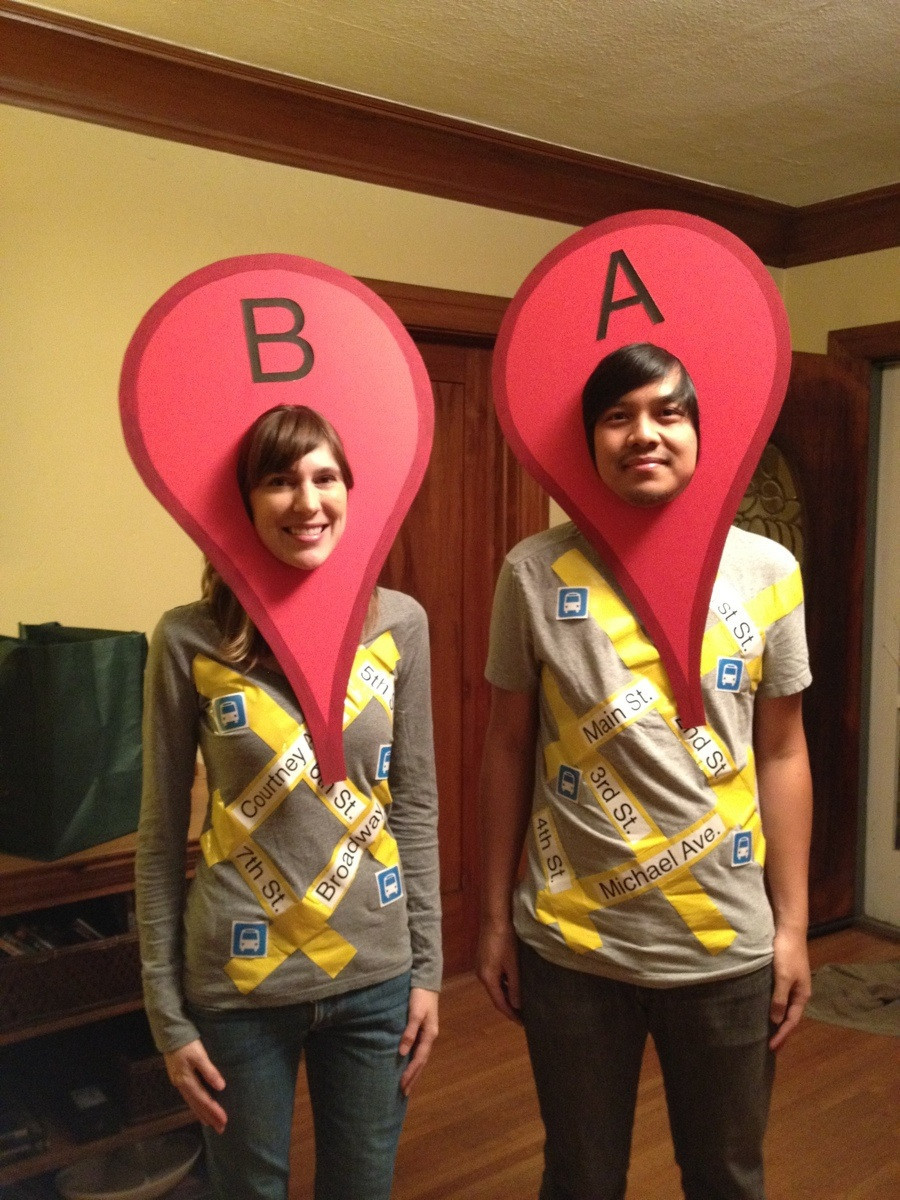 Driving directions costumes