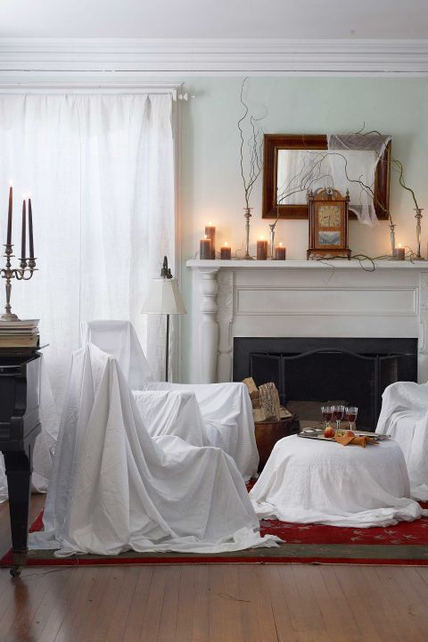 Easy halloween decor idea