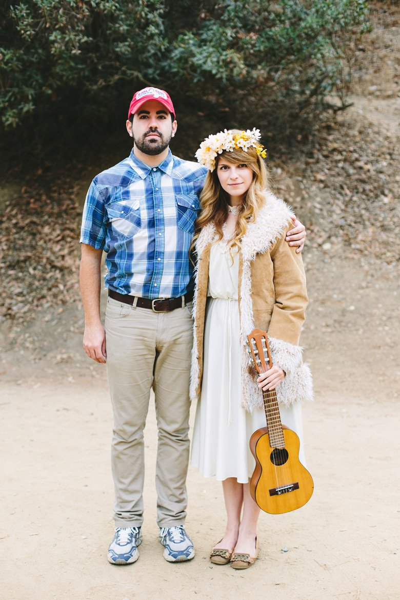 Forest gump and jenny costumes