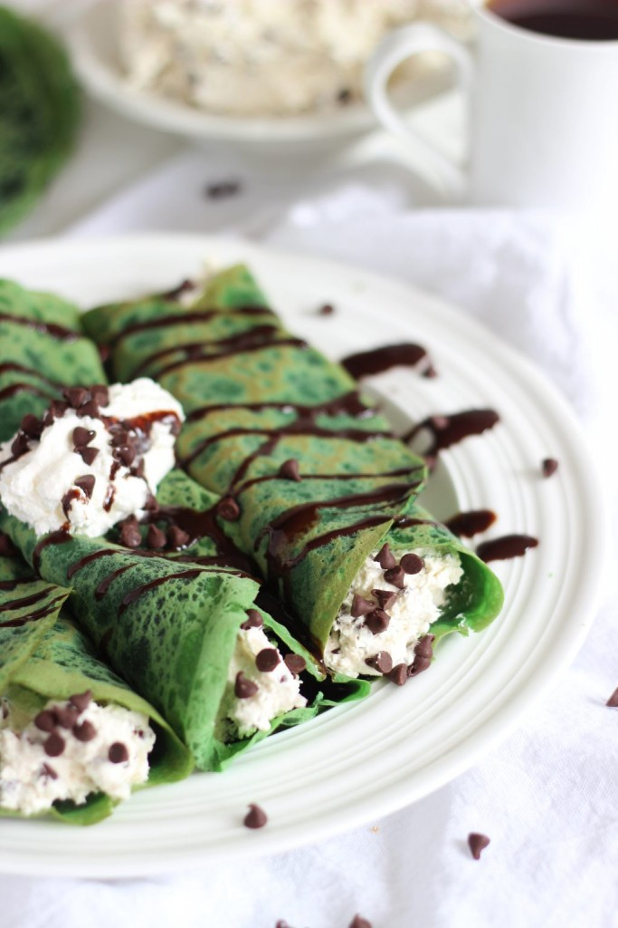 Green velvet crepes with baileys chocolate chip cheesecake filling 7 683×1024