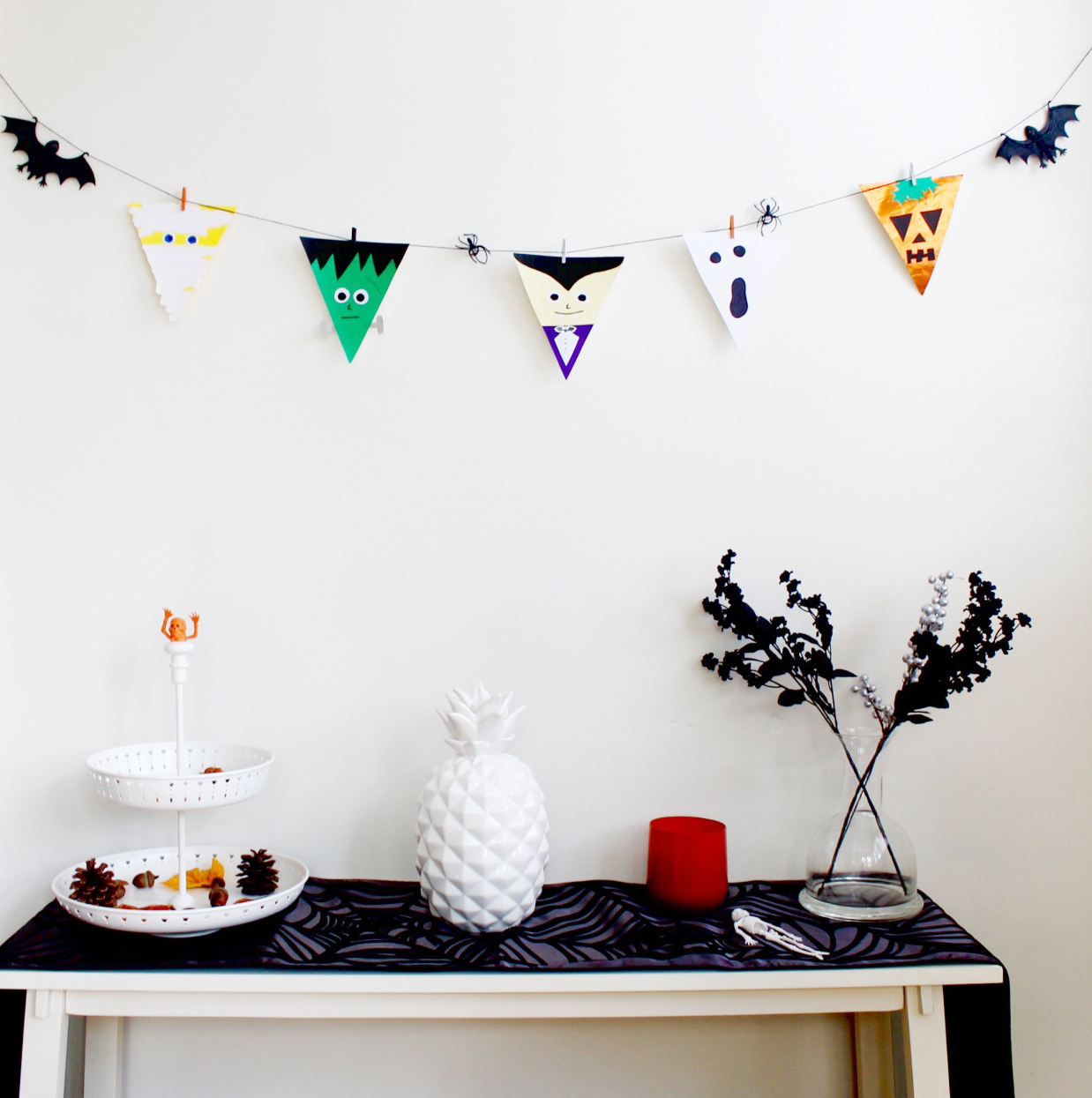 Halloween bunting flags party decor