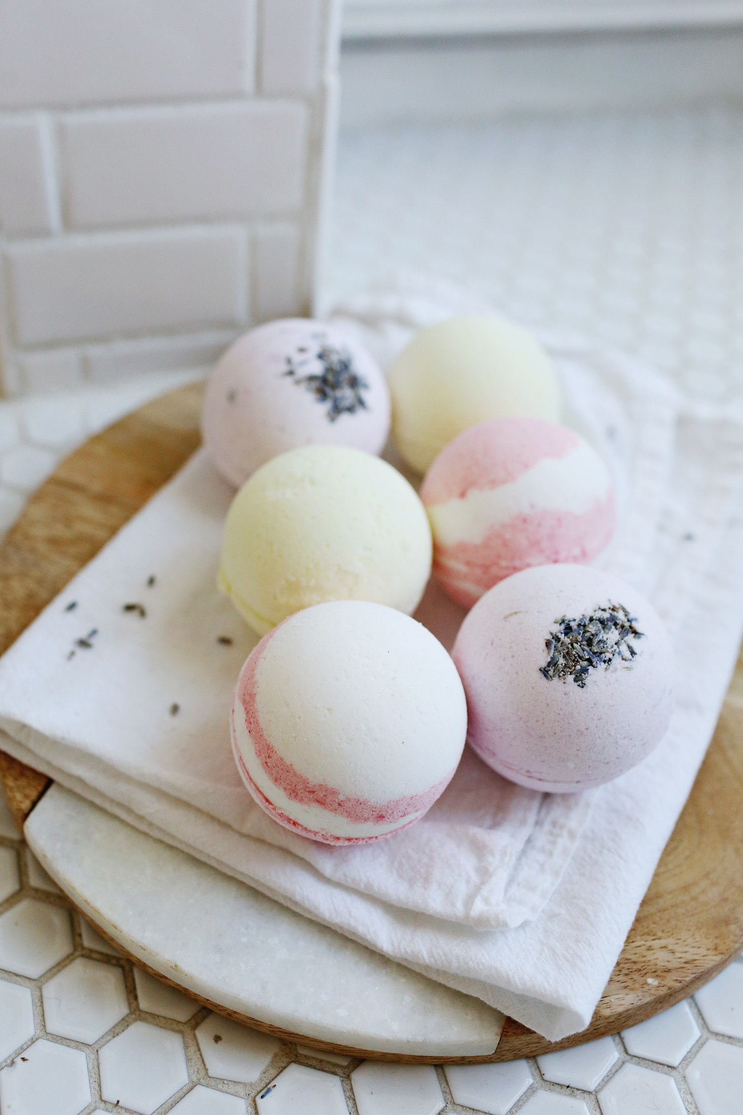 Homemade bath bombs diy