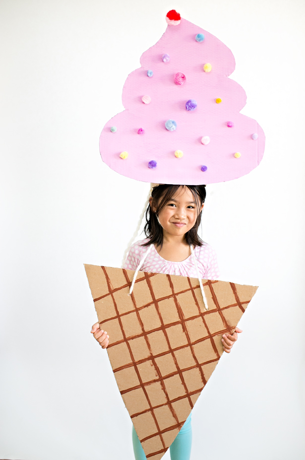 Ice cream cone halloween costume
