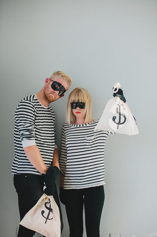 Jailbird couples costumes