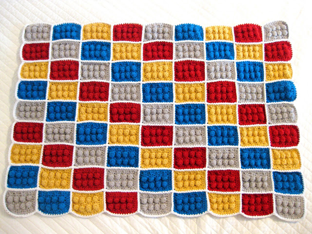 Lego crochet baby blanket diy