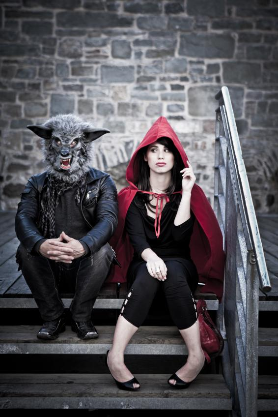 Little red riding hood wolf costumes