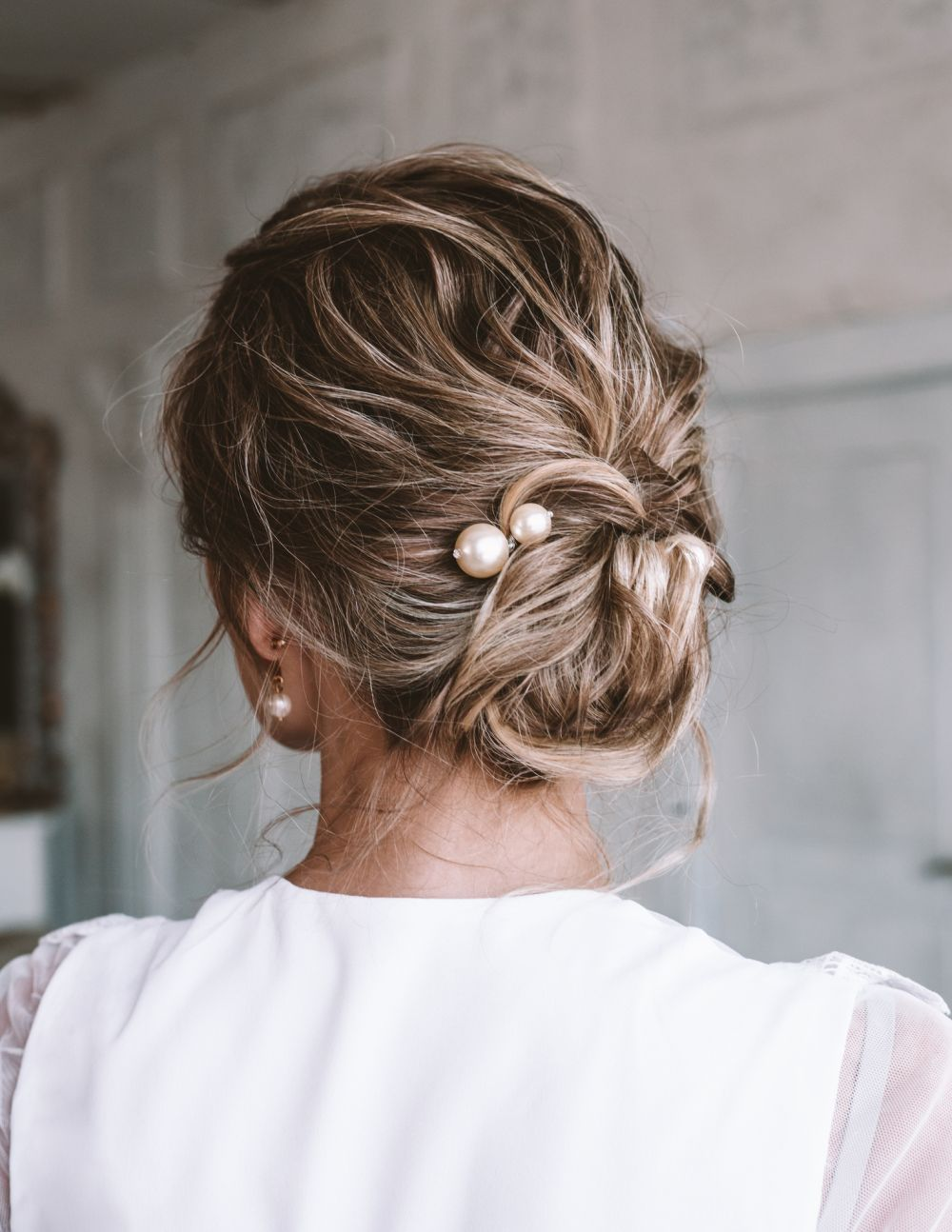 Nice hairstyle updo