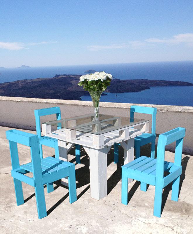Pallet furniture set diy