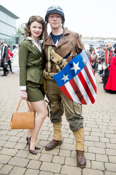 Peggy carter captain america costumes