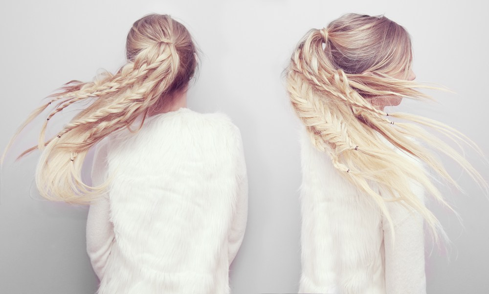 Ponytail braids diy