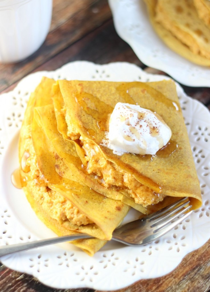 Pumpkin crepes with pumpkin cheesecake filling 16 737x1024