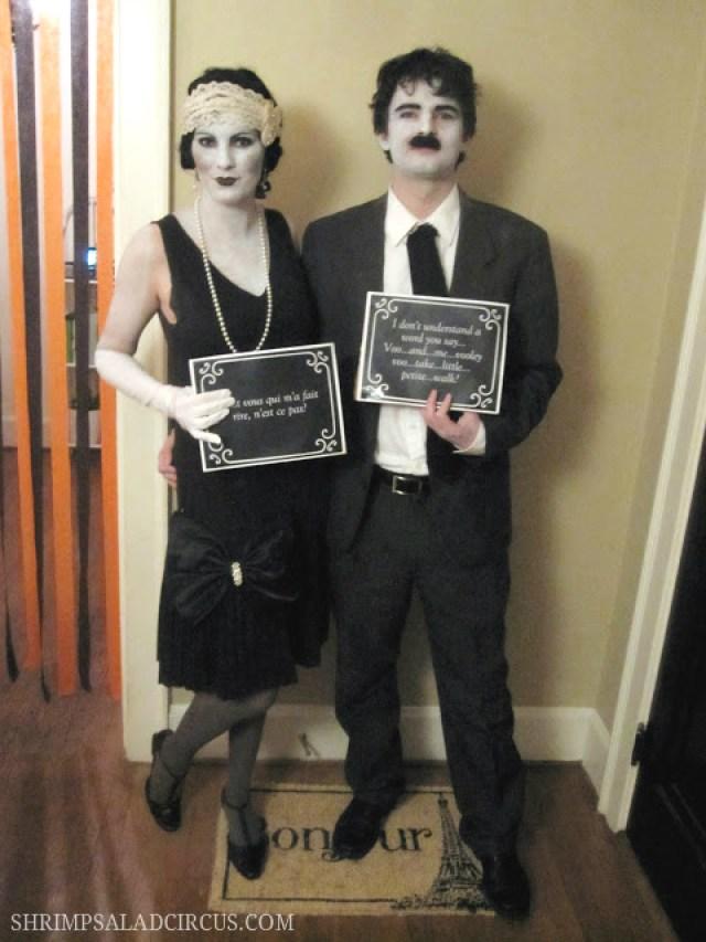 Silent film stars costumes