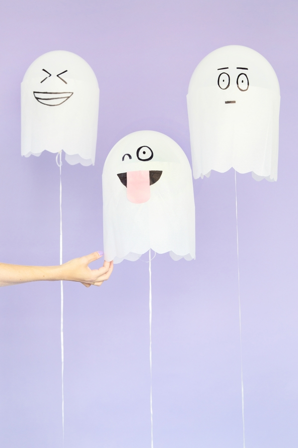 Silly ghost balloons party decor