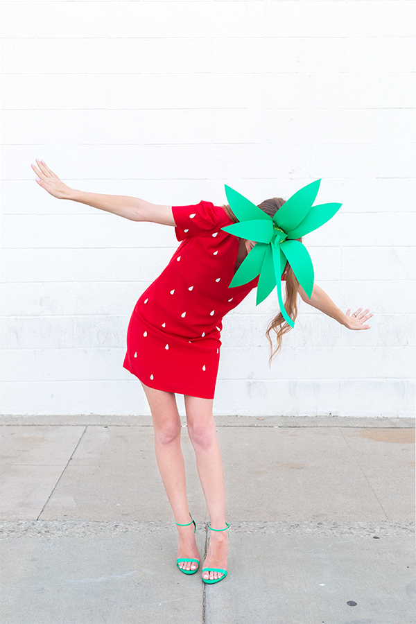 Strawberry halloween costume diy