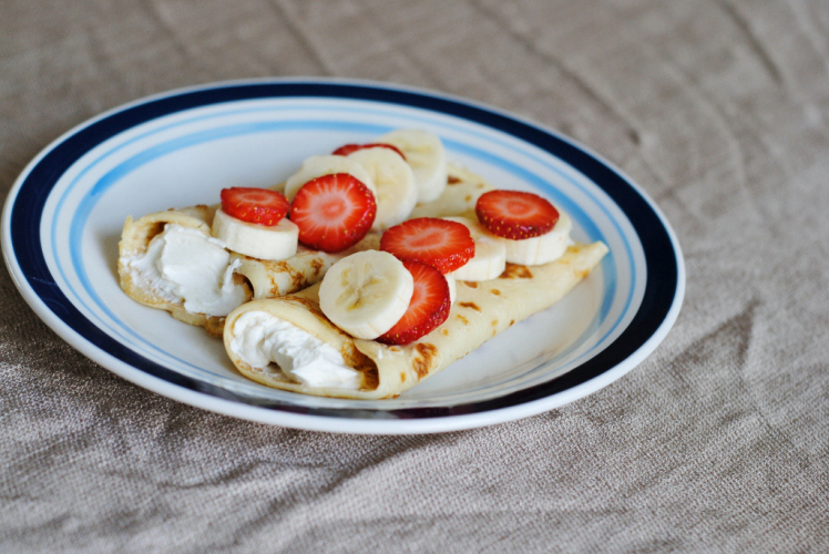 how to make sweet cream cheese filling for crepes