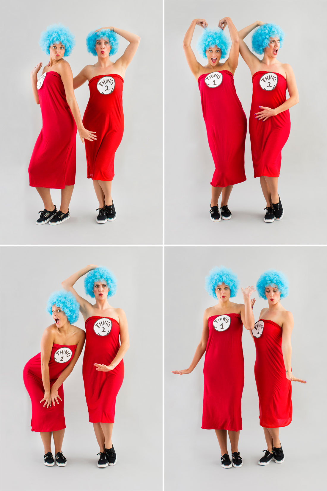 Thing 1 thing 2 costumes