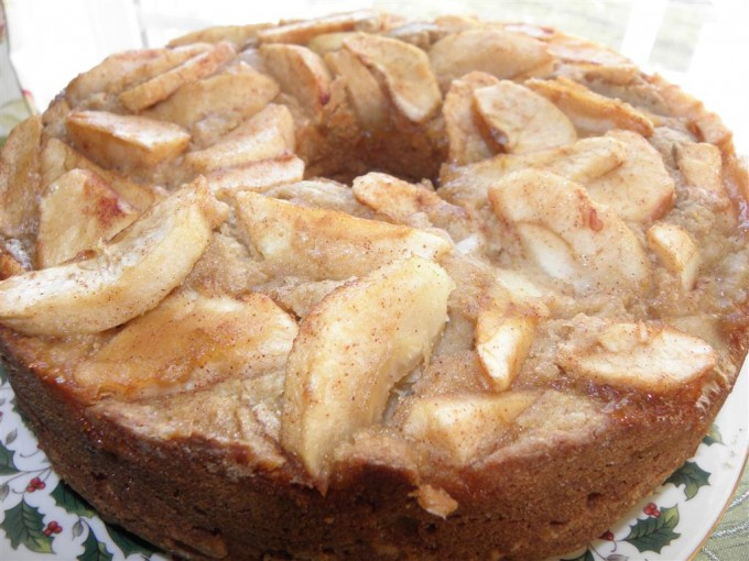Whole wheat apple cake recipe