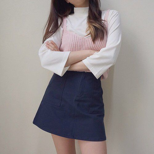 1980's school girl outfit