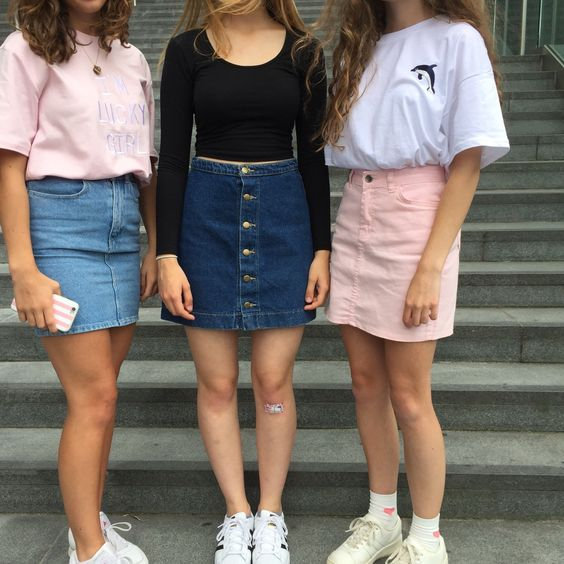 How To Wear High Waisted Skirts 2018  FashionTastycom