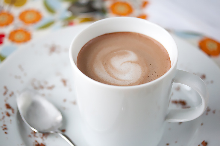 42 calorie almond milk hot chocolate