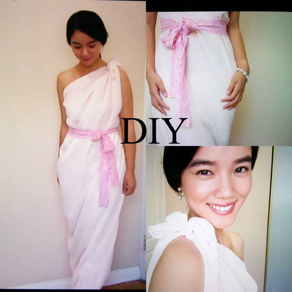 A line chiffon bridesmaids dress