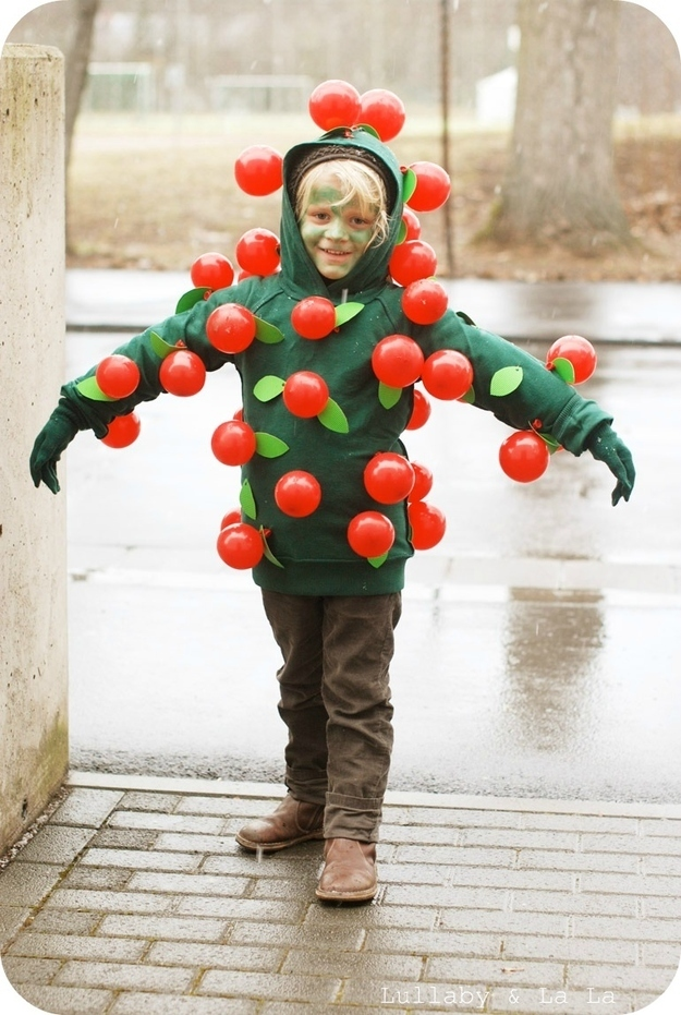 Apple tree halloween costume