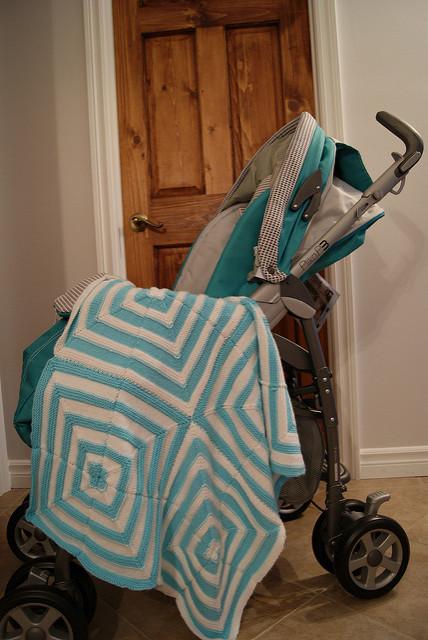 Baby stroller blanket