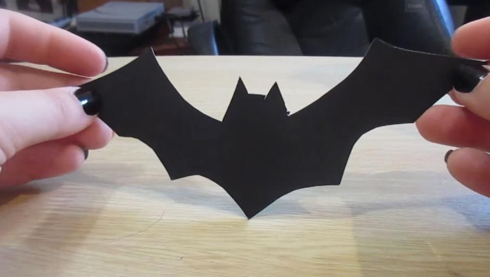 Bat decoration for halloween doors