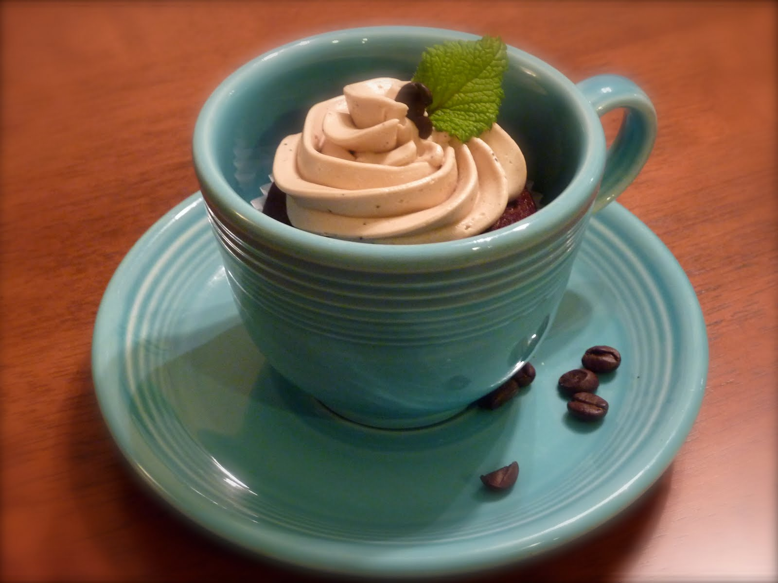 Bavarian mint coffee