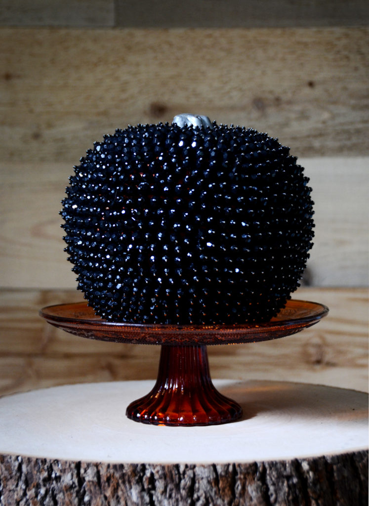Beaded glam pumpkin final 1