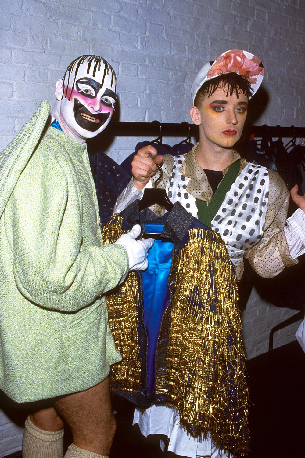 'blitz' designer collection fashion show at the albery theatre, london, britain 1986