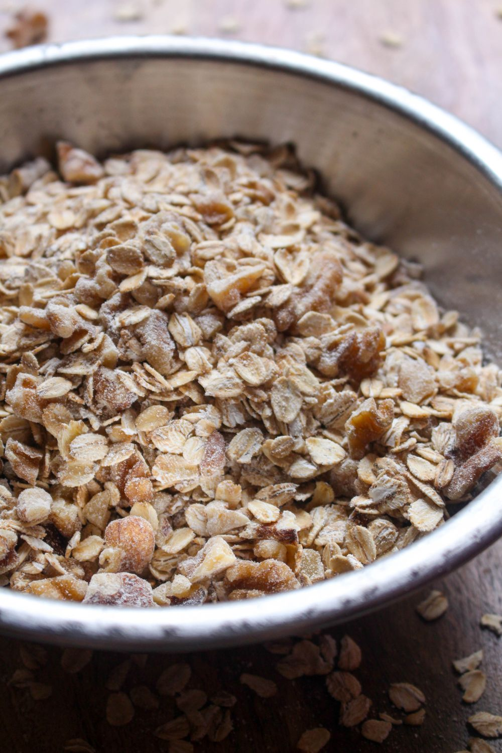 Caramel apple granola add walnut
