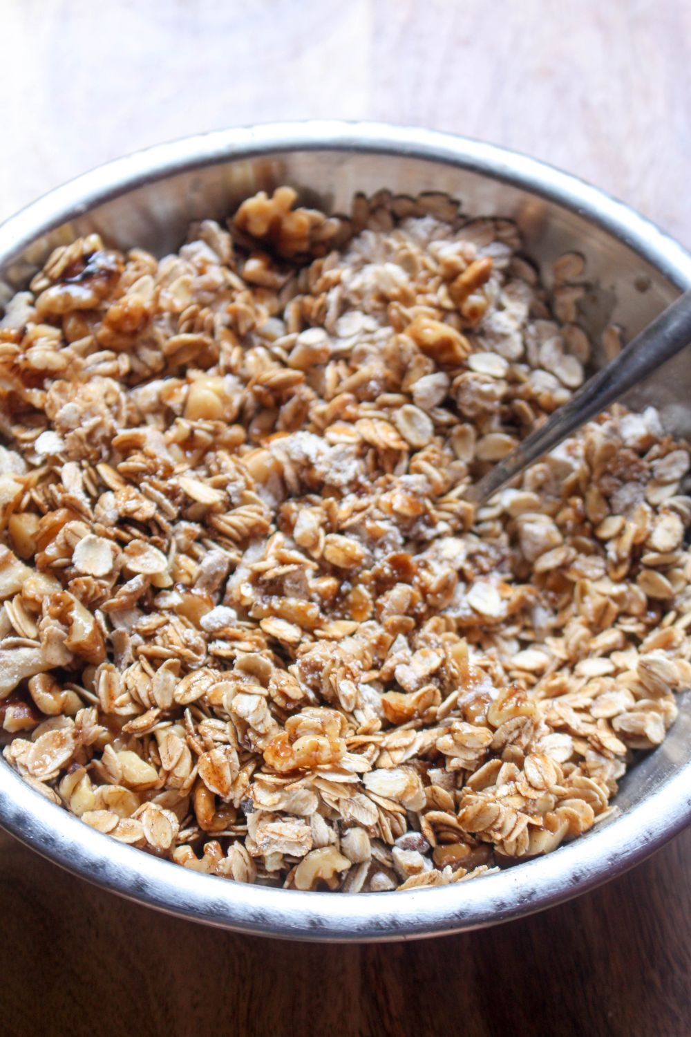 Caramel apple granola stir