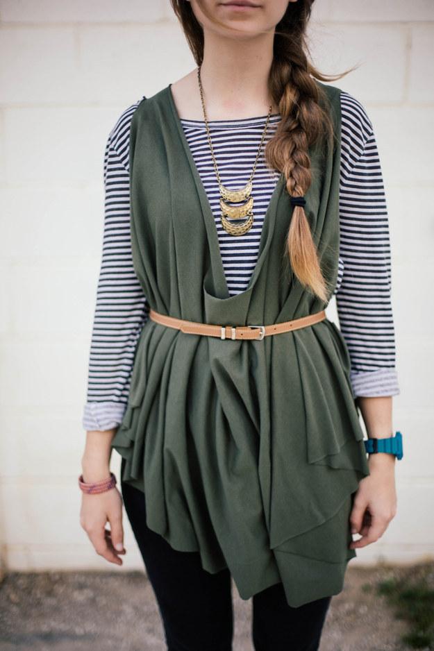 Cozy layering tunic