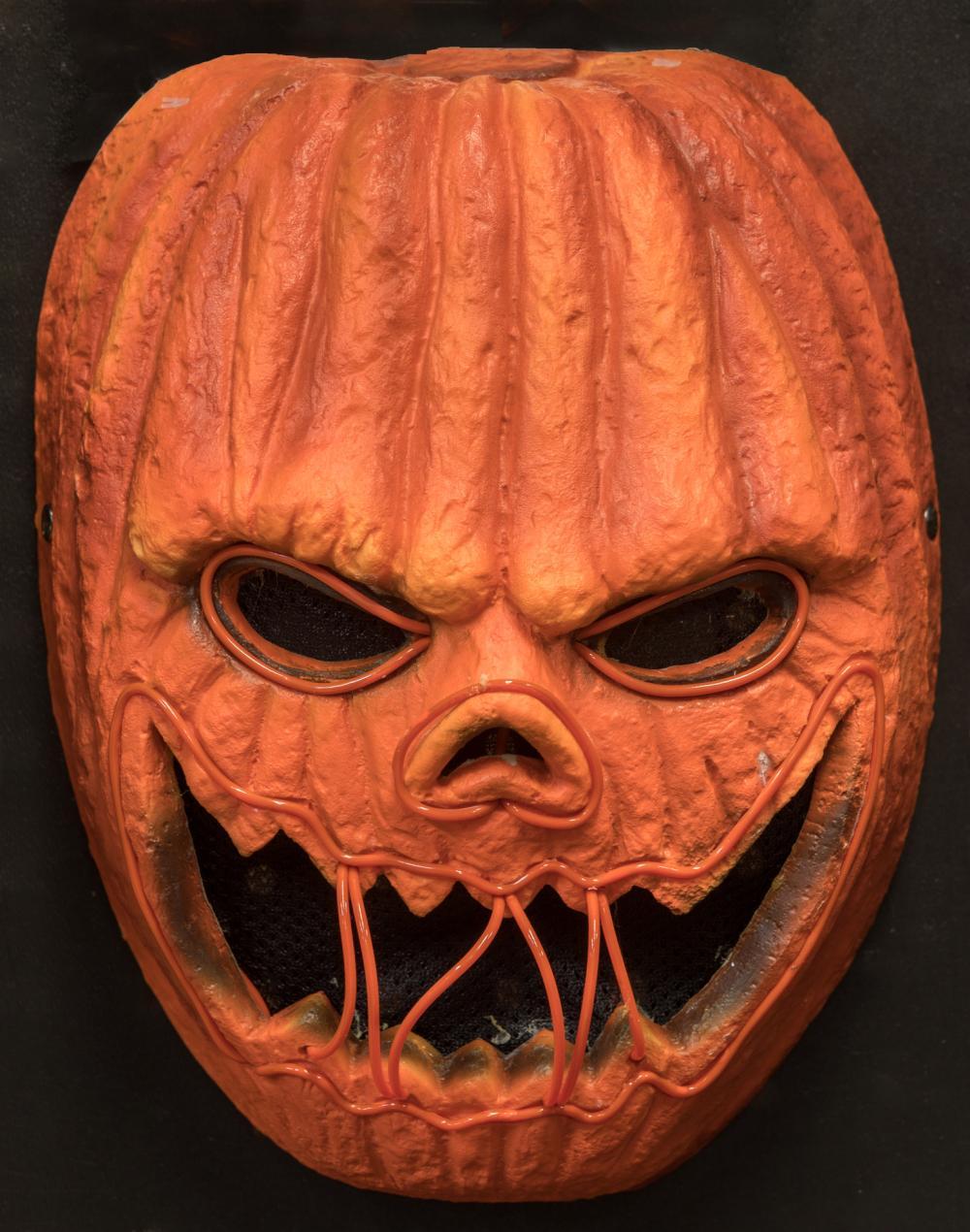 Creepy mask cool pumpkin carving ideas