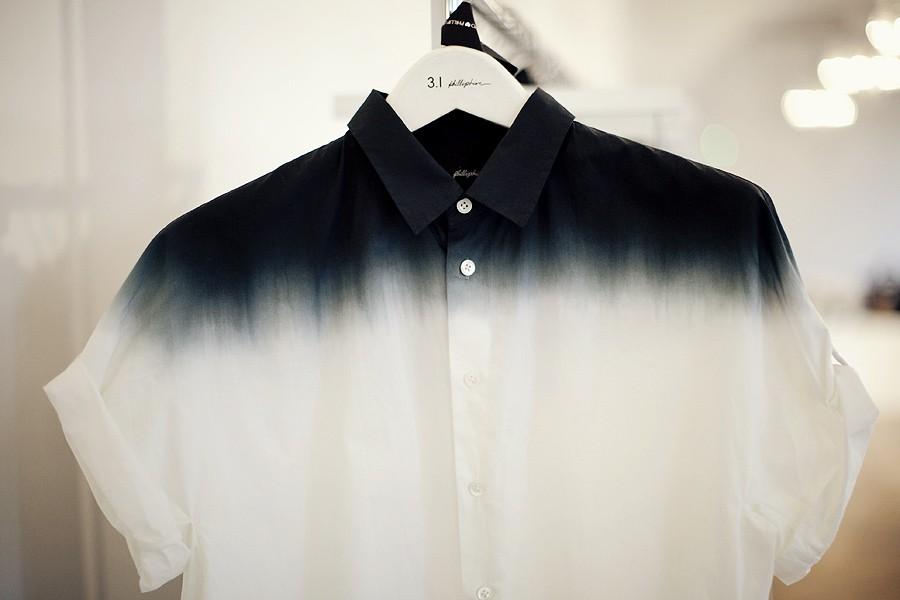 Diy dip dye shirt