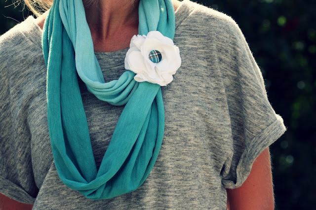 Diy ombre tie dye scarf