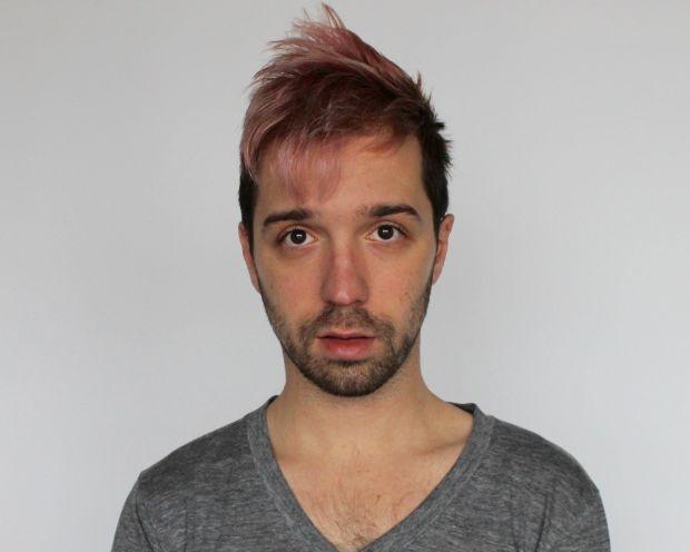 Diy pastel hair for men