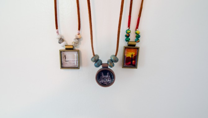 Diy photo resin jewelry