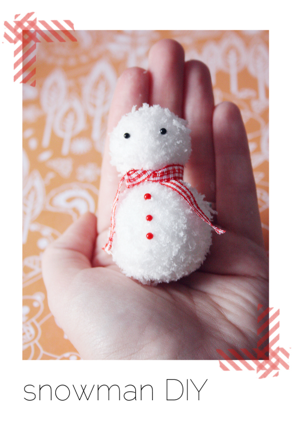 Diy snowman tutorial