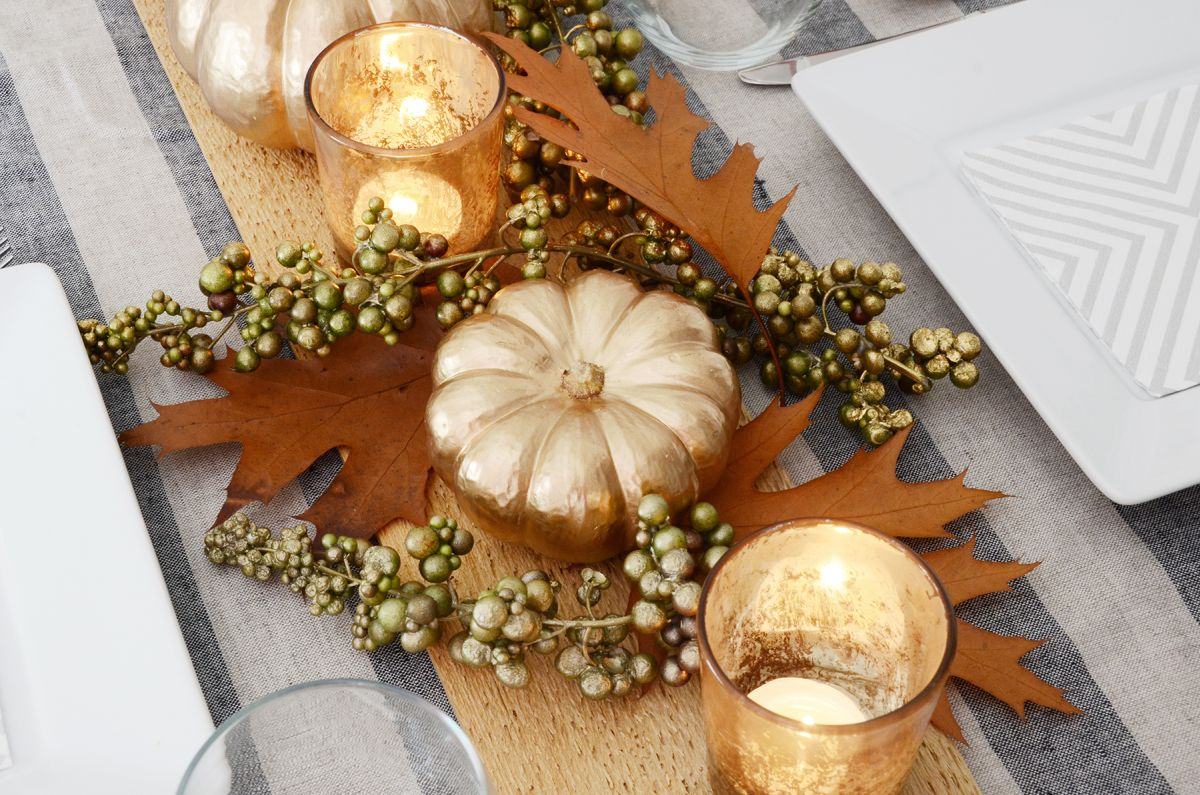 Diy thanksgiving table centerpiece project