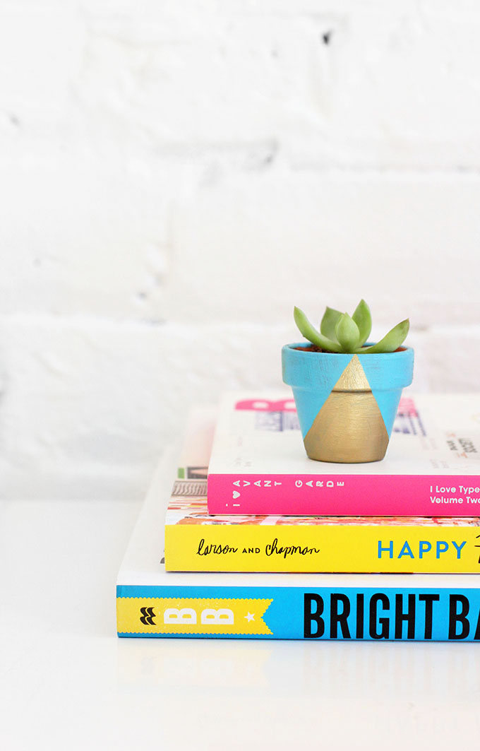 Diy tiny neon pots