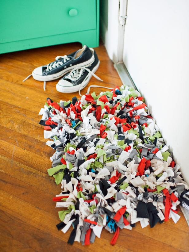 Diy tshirt rug