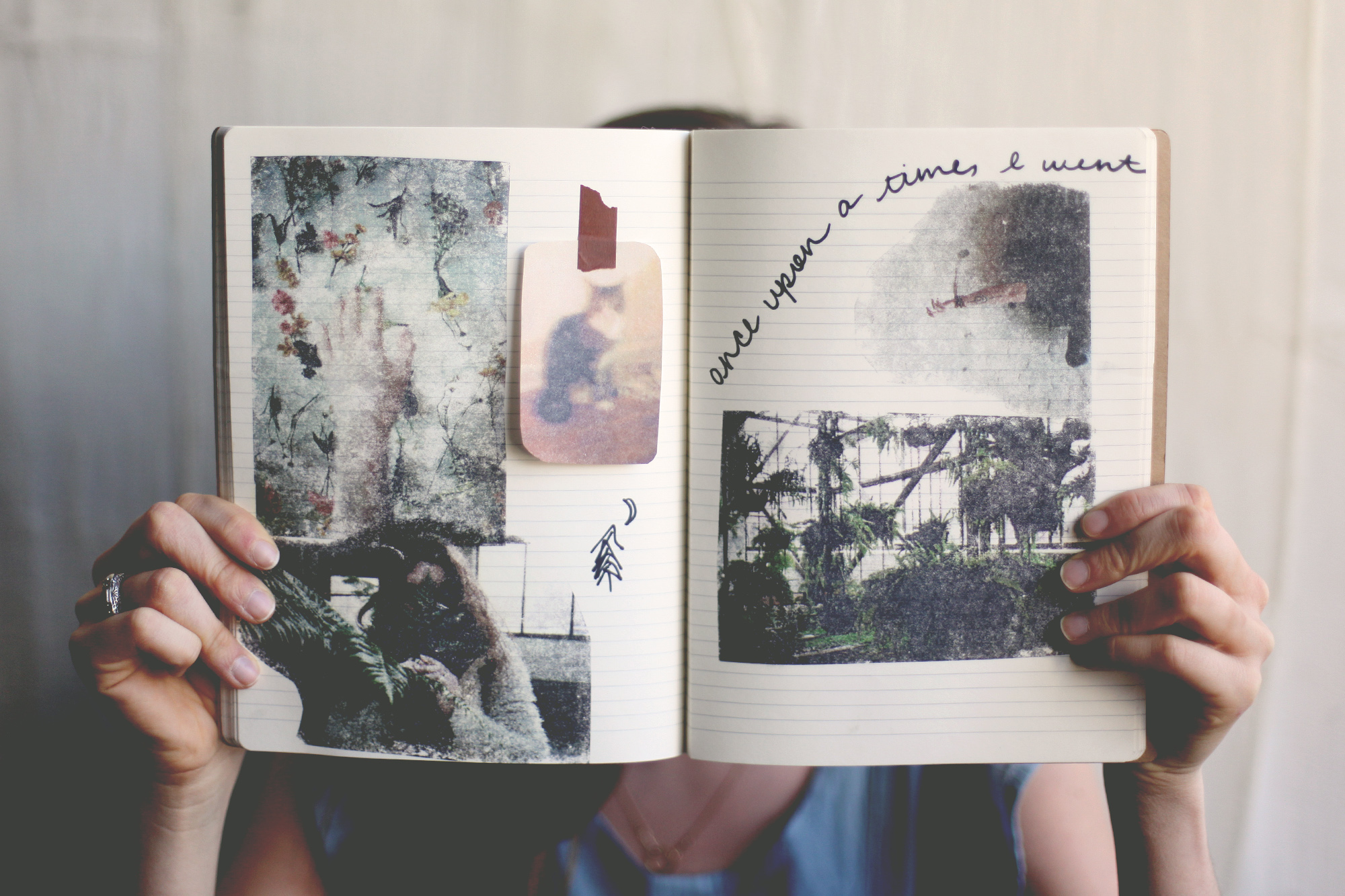 Diy photo transfer pages