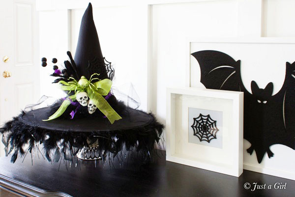 Witchy Home Decor - DIY Witch Hat