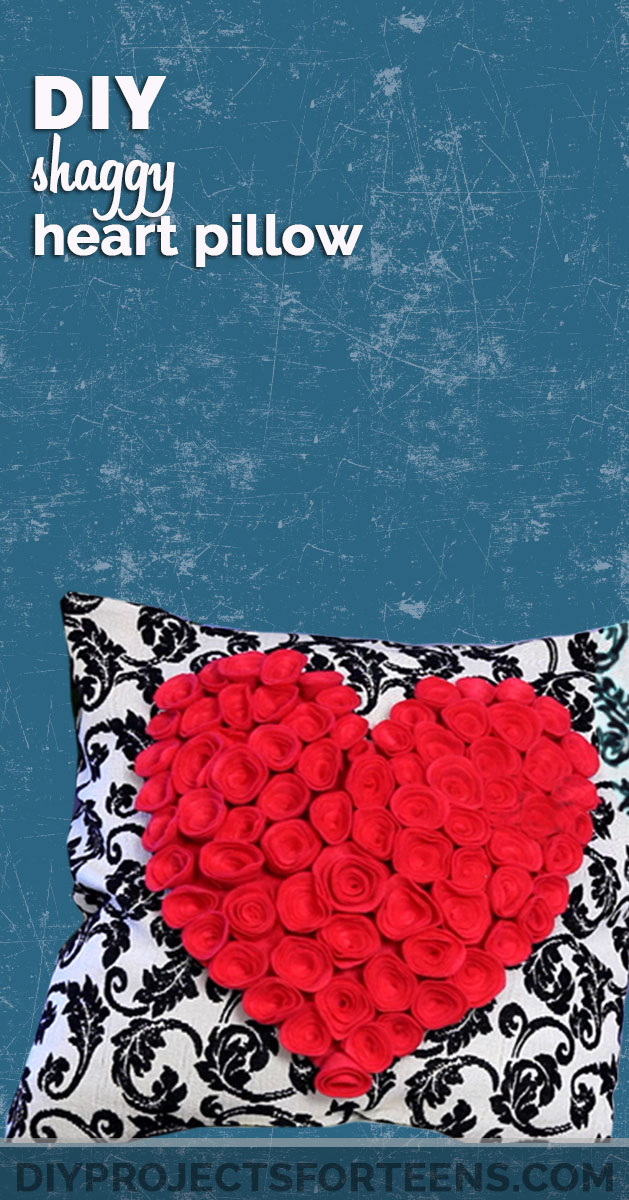 These 50 diy room decor tutorials will help transform your space in diy heart pillow solutioingenieria Images