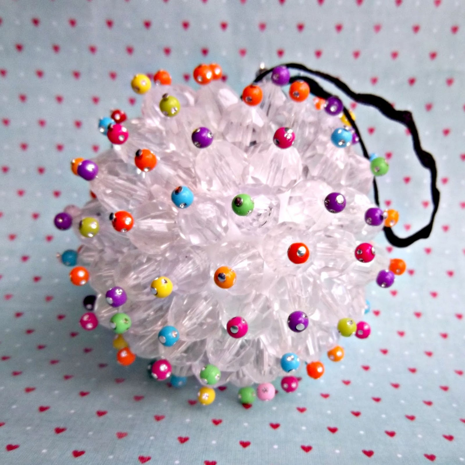 Diy bauble ornament