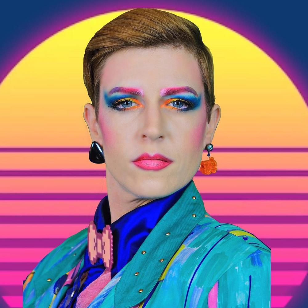 David bowie 80s style clothing