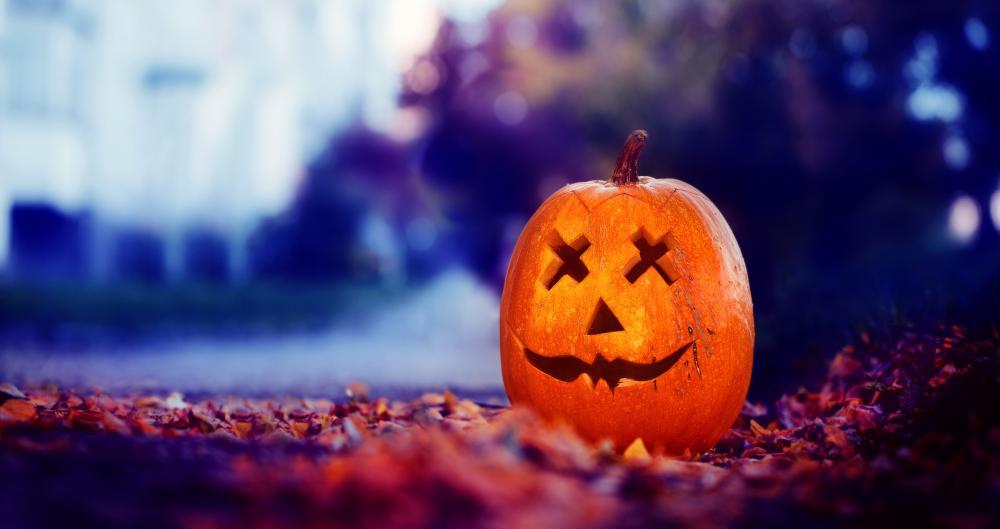 Dead pumpkin simple pumpkin carving